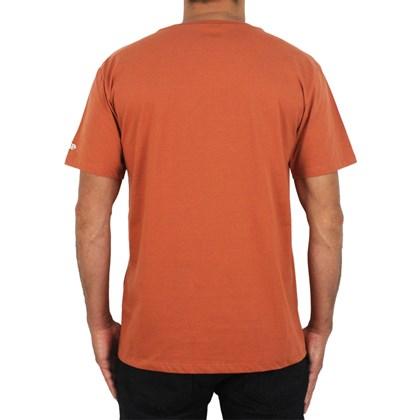 Camiseta New Era Heritage Megaphone Branded Orange