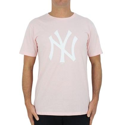 Camiseta New Era MLB New York Yankees Rosa