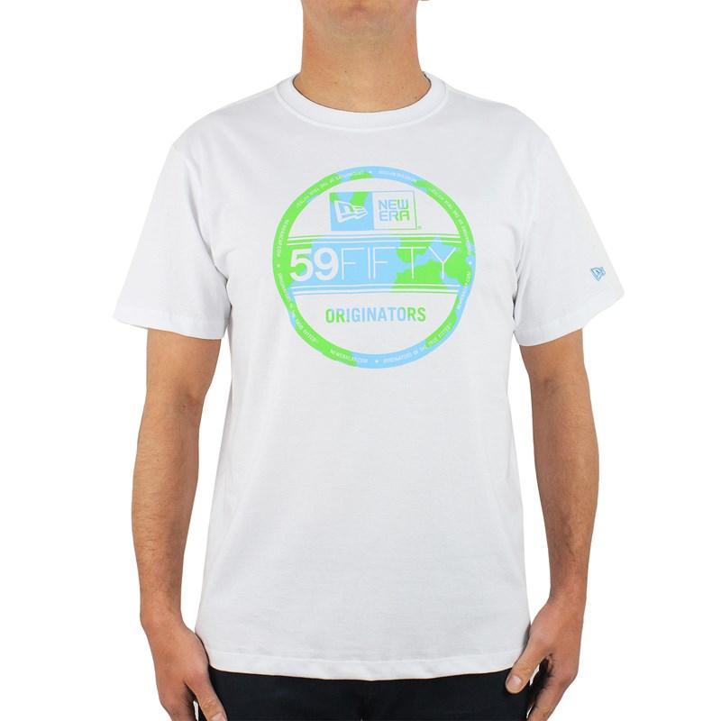 Camiseta New Era Recycle Yourself 59Fifty White
