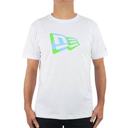 Camiseta New Era Recycle Yourself Flag White