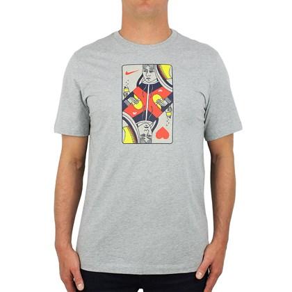 Camiseta Nike SB Queen Card Cinza