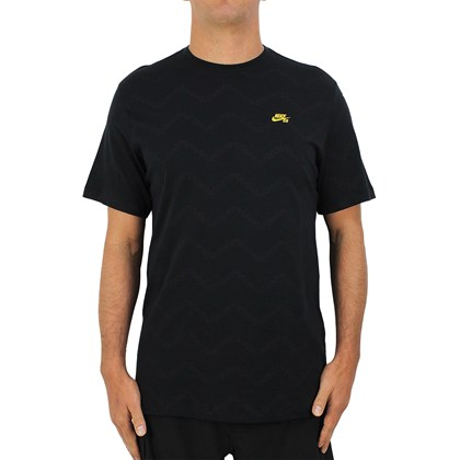 Camiseta Nike SB Quilted Black