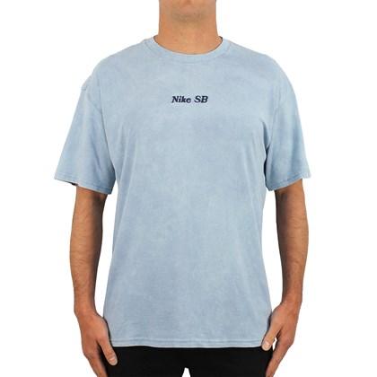 Camiseta Nike SB Washed Cinza