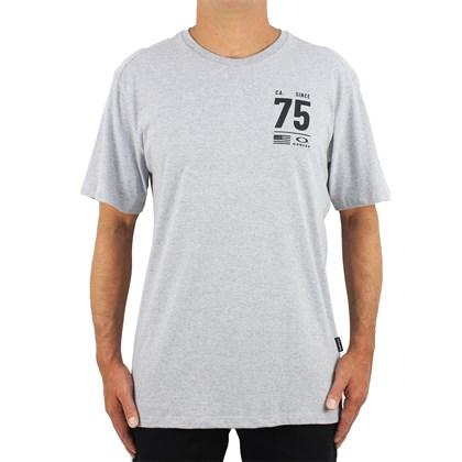 Camiseta Oakley 75 Blocked Stone Grey