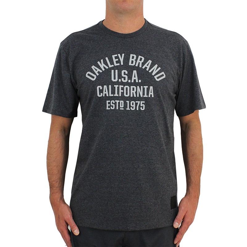Camiseta Oakley Athletic Graphic Jet Black Heather