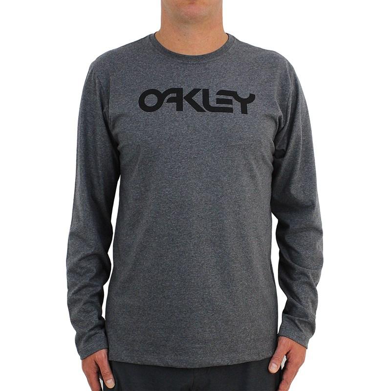 Camiseta Oakley Mark II Manga Longa Athletic Heather Grey