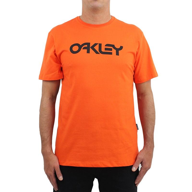 Camiseta Oakley Mark II Neon Orange