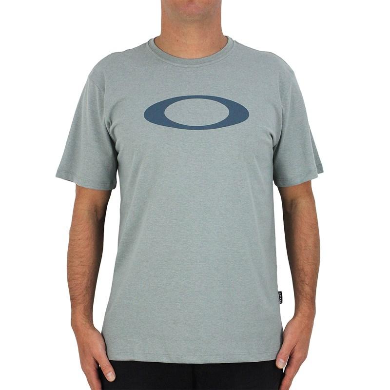 Camiseta Oakley O-Ellipse Heather Grey