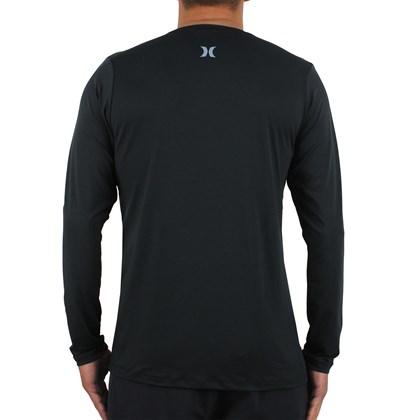 Camiseta para Surf Hurley Circle Preta