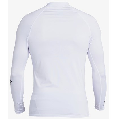 Camiseta para Surf Quiksilver All Time Manga Longa White