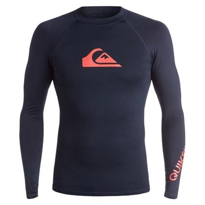 CAMISETA PARA SURF QUIKSILVER ALL TIMES NAVY IMPORTADA