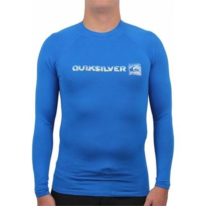 CAMISETA PARA SURF QUIKSILVER PHASER AZUL IMPORTADA