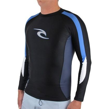 Camiseta Para Surf Rip Curl Rash Vest Stripe Black
