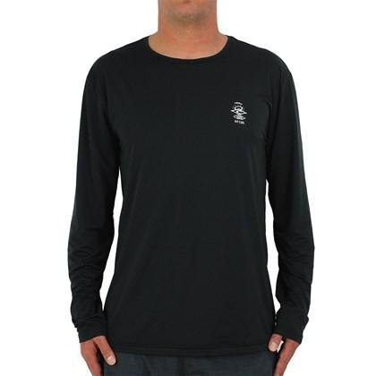 Camiseta para Surf Rip Curl Search Logo Black
