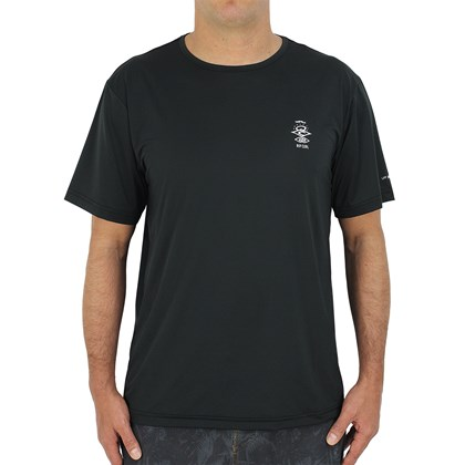 Camiseta para Surf Rip Curl Search Logo Black