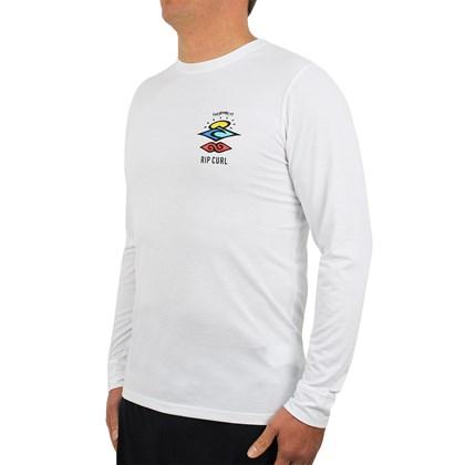 Camiseta para Surf Rip Curl Search Logo White