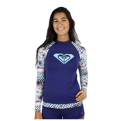 Camiseta para Surf Roxy Lightlayer Blue