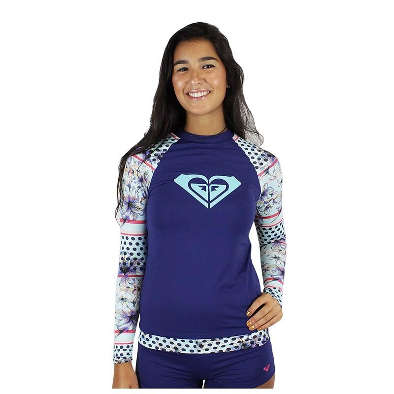 Camiseta para Surf Roxy Lightlayer Blue