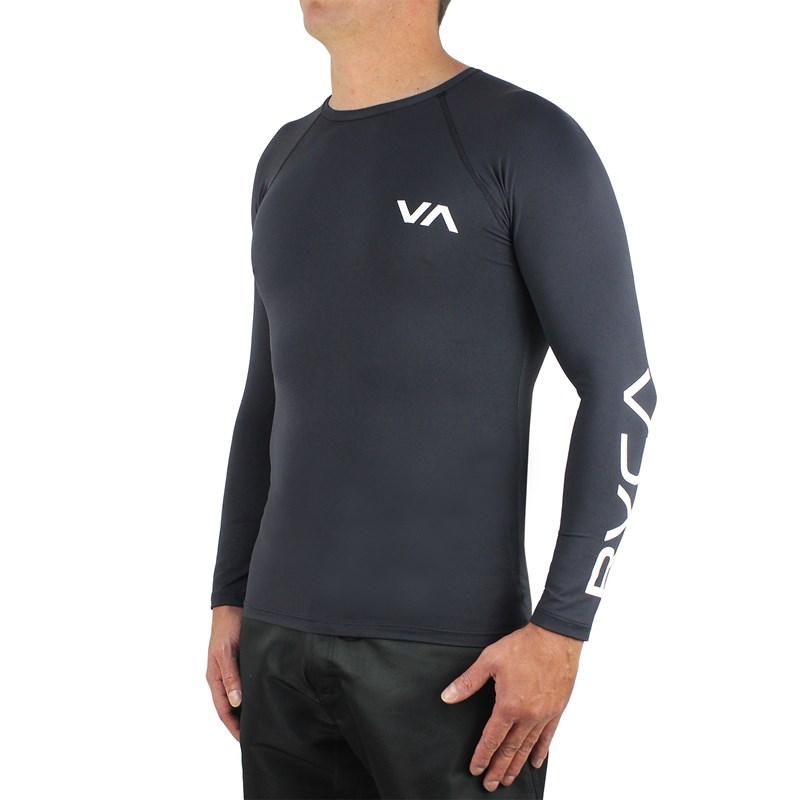 Camiseta para Surf RVCA VA Preta