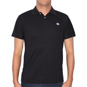 CAMISETA POLO DC SHOES STAPLE PRETA