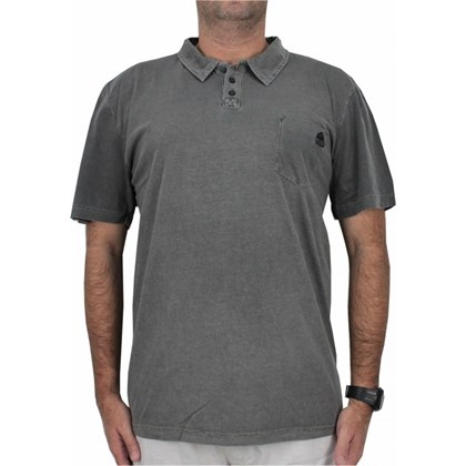 CAMISETA POLO EXTRA GRANDE REEF FIJI DARK GREY