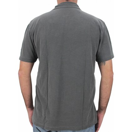 CAMISETA POLO EXTRA GRANDE RIP CURL WAVE ICON DARK GREY