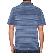 CAMISETA POLO HANG LOOSE BRUSH AZUL MARINHO