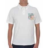 CAMISETA POLO REEF CONUTS OFF WHITE