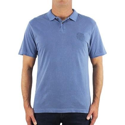 Camiseta Polo Rip Curl Round Logo Washed Navy
