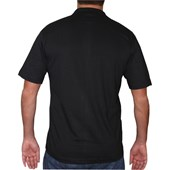 CAMISETA POLO RUSTY BASIC BLACK