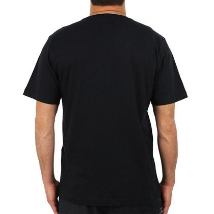 Camiseta Quiksilver Basic 50YR Boardie Preta
