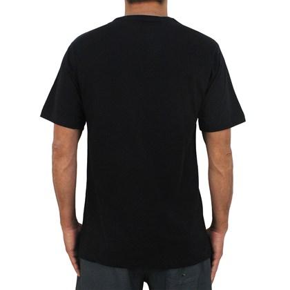 Camiseta Quiksilver Basic Comp Logo Black