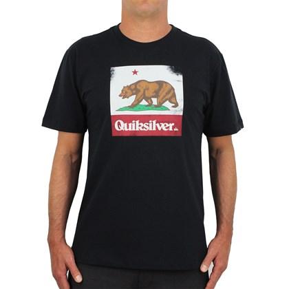 Camiseta Quiksilver CA Bear Black
