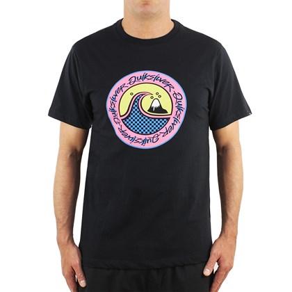 Camiseta Quiksilver Eletric Hoots Black