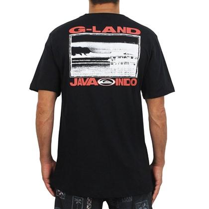 Camiseta Quiksilver G-Land Wave Black