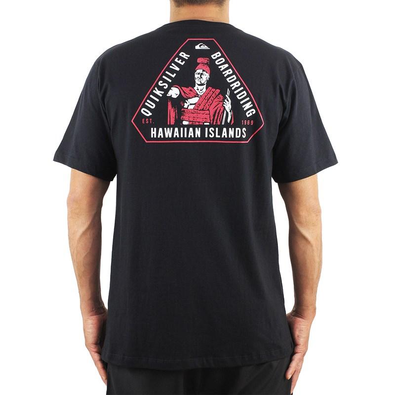 Camiseta Quiksilver Hi Hi Island Triad Black