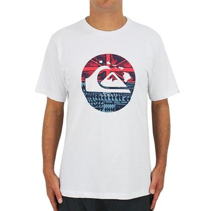 Camiseta Quiksilver Hi Logistic Branca