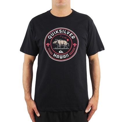 Camiseta Quiksilver Hi Next Meal Black