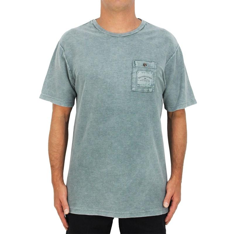 Camiseta Quiksilver Itinga Verde Militar