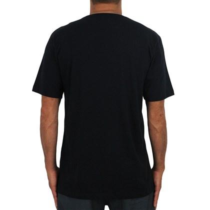 Camiseta Quiksilver King Aloha Preta