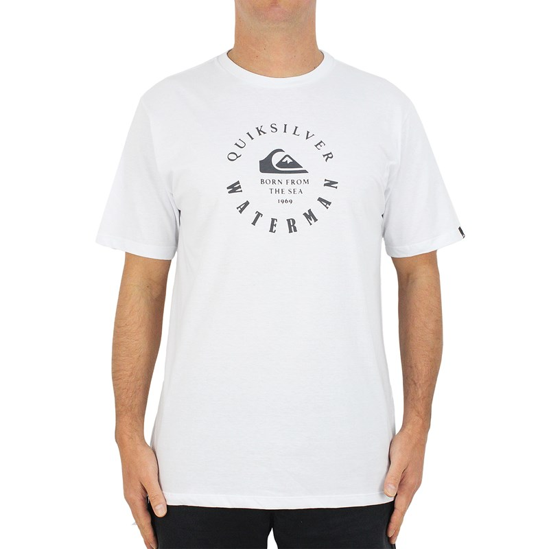 Camiseta Quiksilver Little Mark Branca