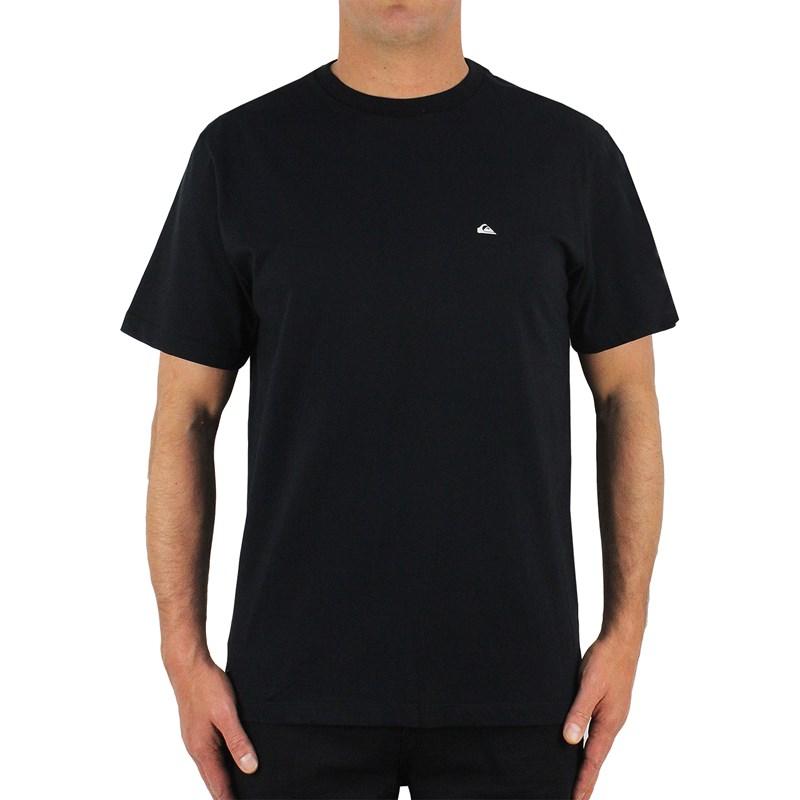 Camiseta Quiksilver Patch Logo Black