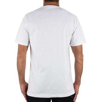Camiseta Quiksilver Patch Logo White
