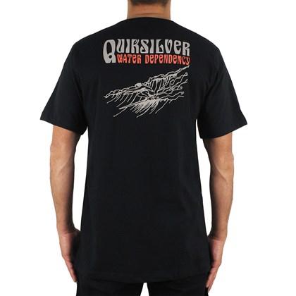 Camiseta Quiksilver Sea Life Black