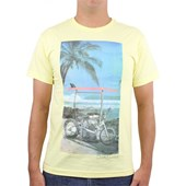 CAMISETA QUIKSILVER SLIM FIT BALI HARLEY MAIZE YELLOW