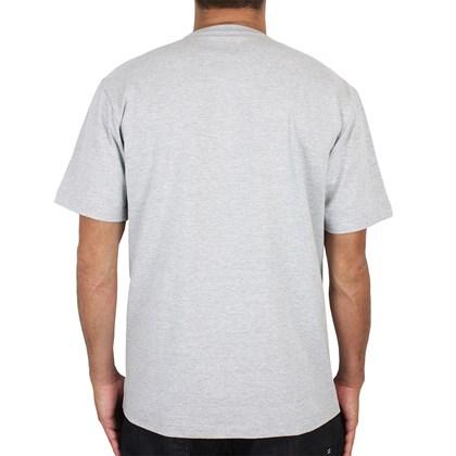 Camiseta Quiksilver Transfer Surf Cinza Mescla