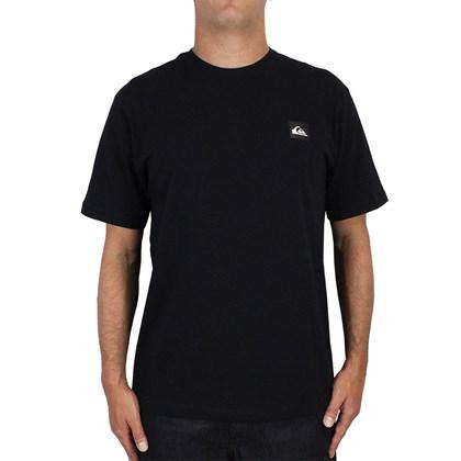 Camiseta Quiksilver Transfer Surf Preta
