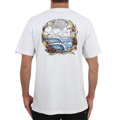 Camiseta Quiksilver Water Dependency White