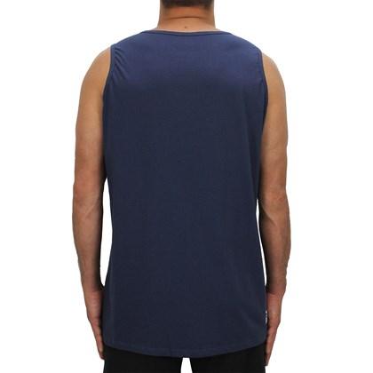 Camiseta Regata Extra Grande Hang Loose Rasta Azul