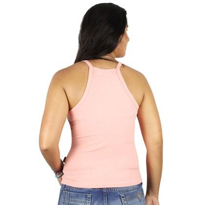 Camiseta Regata Feminina Rip Curl Alexis Peach